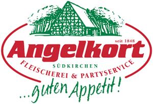 SV Südkirchen - Logo Fleischerei Partyservice Angelkort